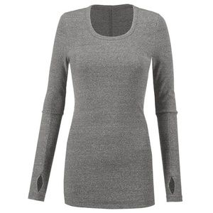 NWT CAbi Drop-In Tee Size Med, Gray Fall'18 J3
